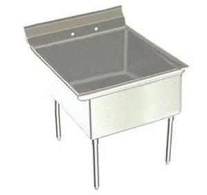 Stainless steel supermarket sink