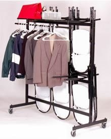Chair/Coat Truck for Folding Chair (Hanging)