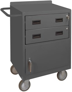 24 Inch Mobile Bench Cabinet, 1200 lb Capacity