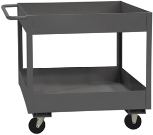 6 Inch Deep Stock Carts With Lips Up, 3600 Cap