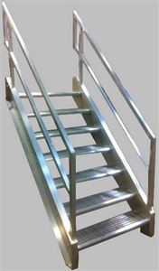 Pre-2017 Welded Alum Prfb Stairways OSHA Design