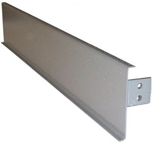 "Closed Riser Filler Panel, Galv & Powder Coat,12""D"