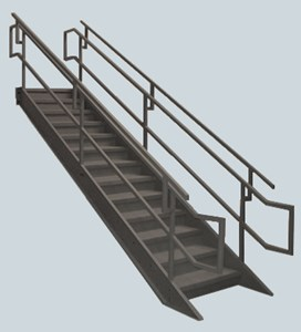 Industrial/Institutional IBC Stairs