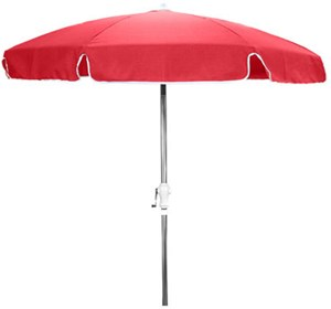 7-1/2' Garden Patio Umbrella with Anodized Pole