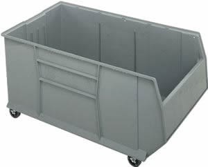42 inch Mobile Rackbin Container