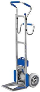F s industries powered stair climbing hand truck for Motorized stair climbing dolly